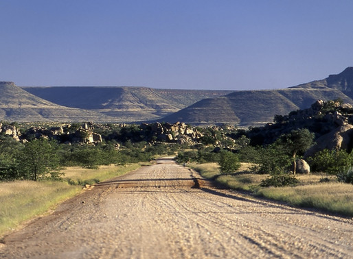 Palmwag en Namibie, entre Kaokoland et Damaraland