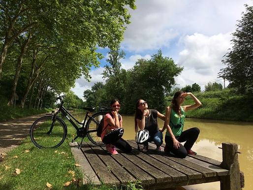 A vélo le long du Canal du Midi, de Toulouse à Sète