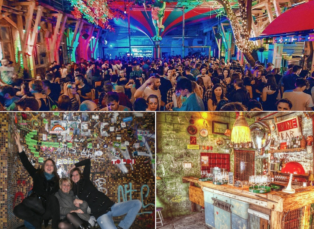 2 jours à budapest - bars et night clubs