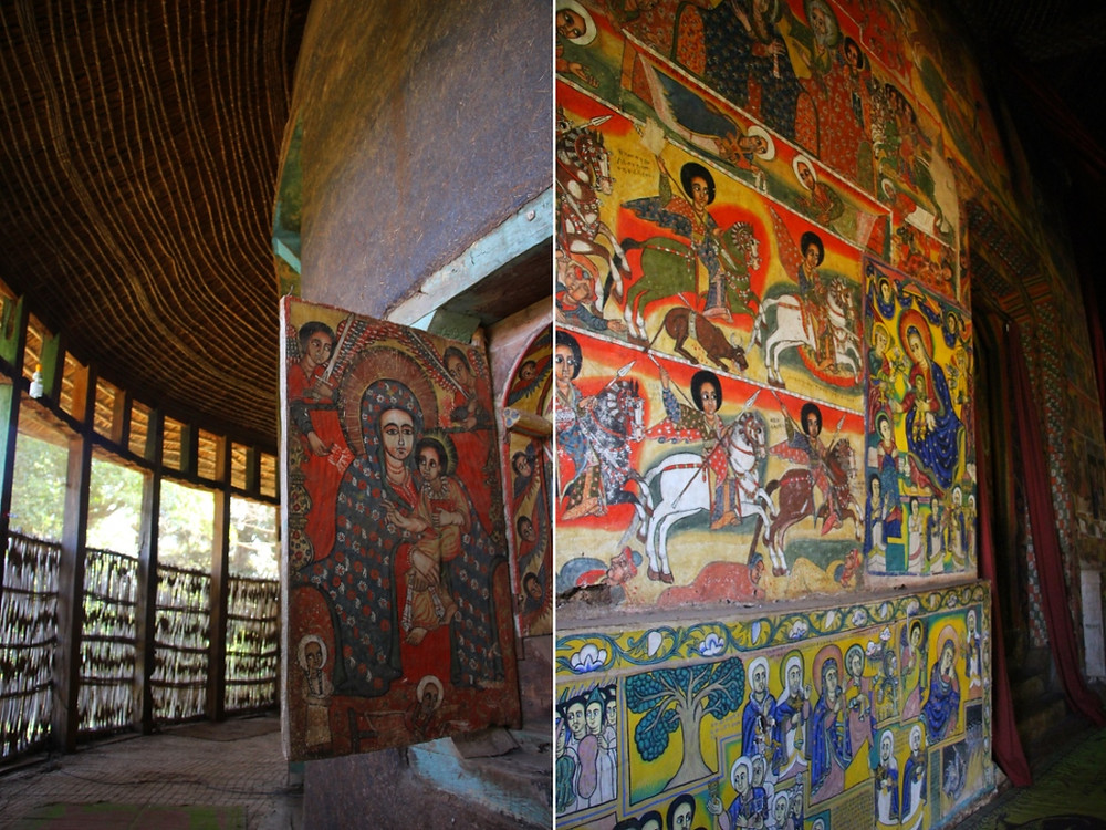 lac tana éthiopie icones églises