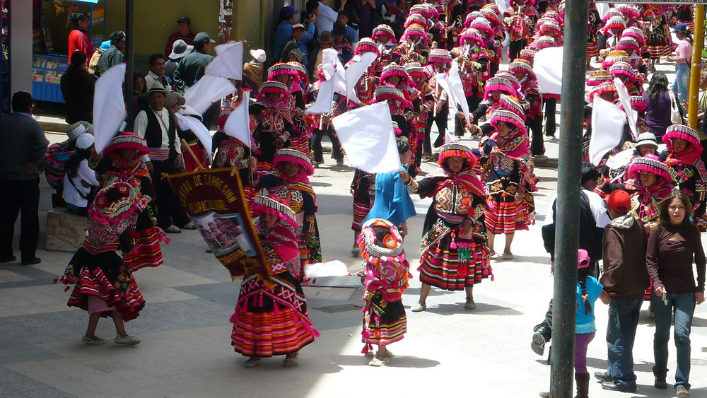 Festival Vierge Puno pérou