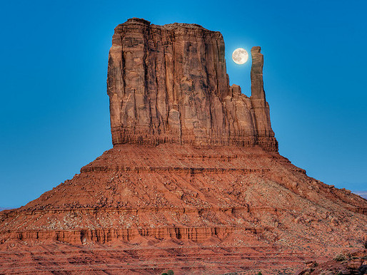 Monument Valley dans le Colorado (Etats-Unis)