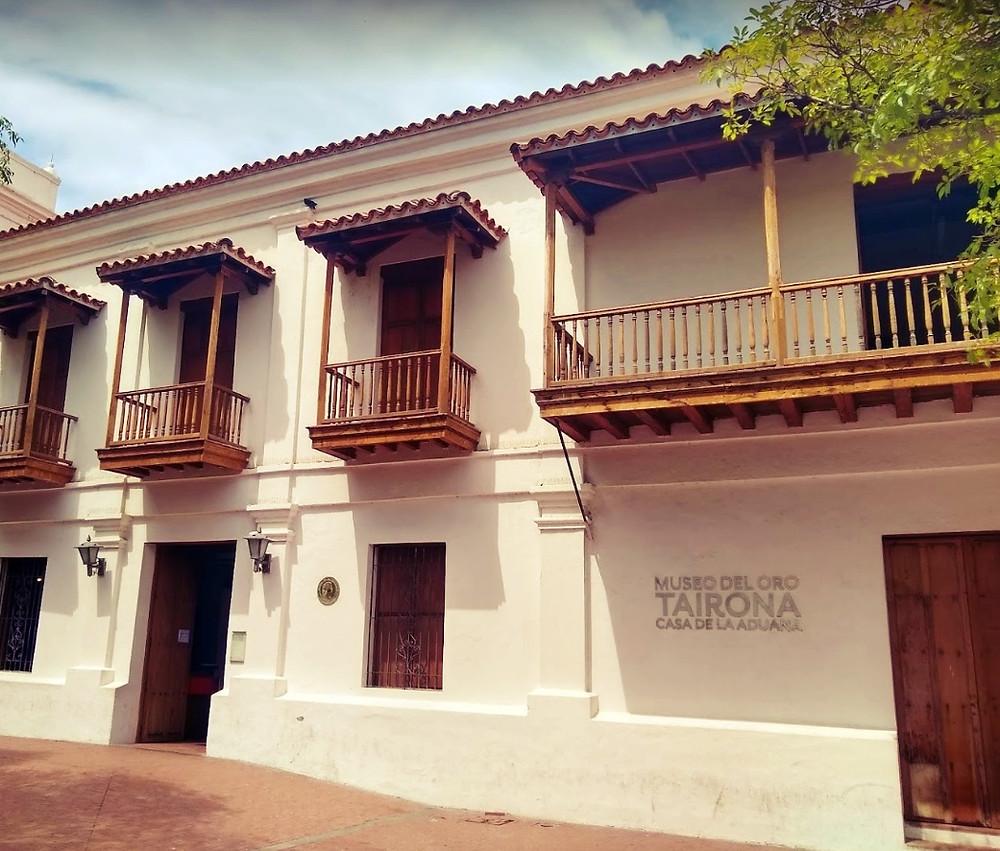Tairona Gold Museum Casa de la Aduana