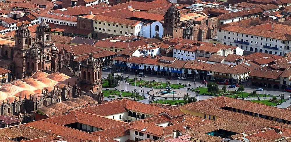 place des Armes Cuzco