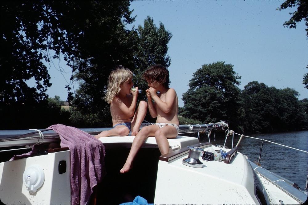 Le Canal des deux Mers en voilier avec enfants