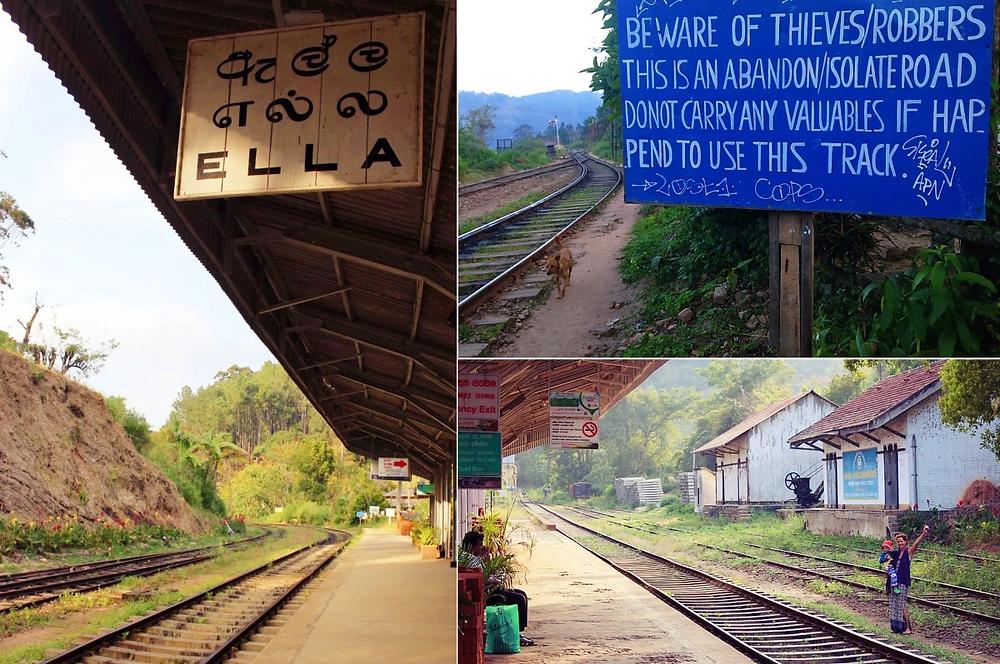 gare Ella au Sri Lanka