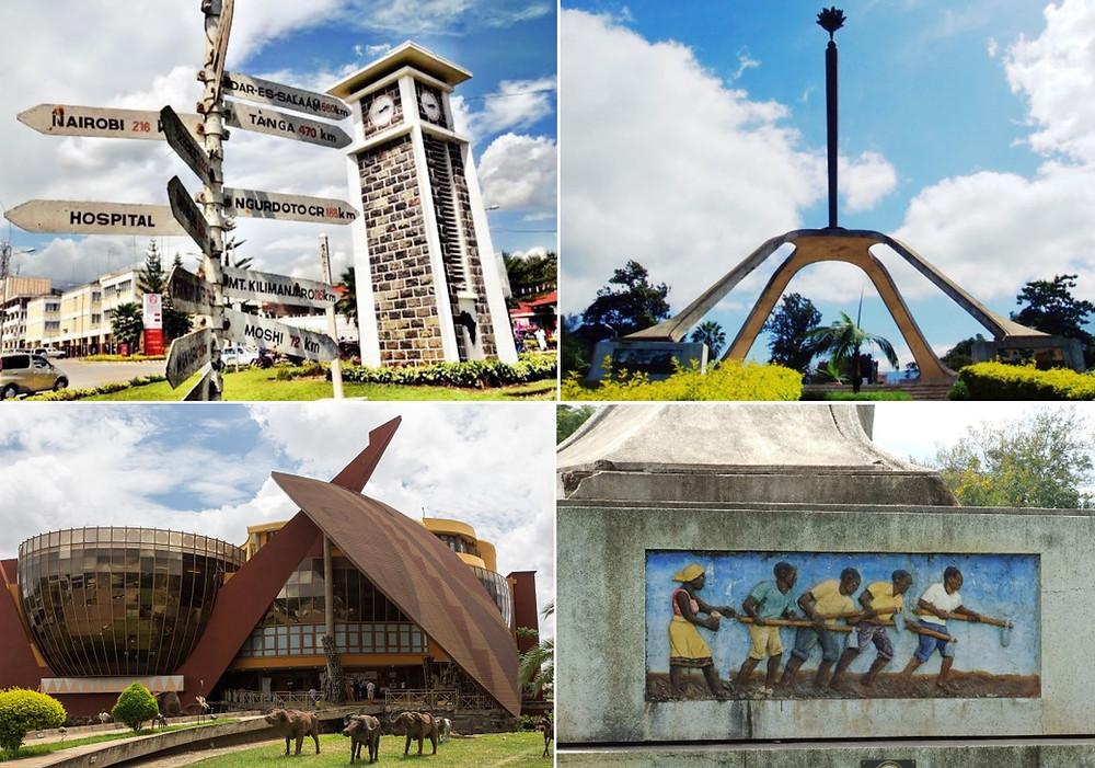 monuments Arusha Tanzanie