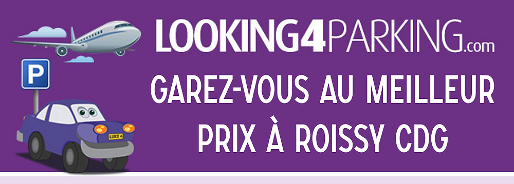Place parking roissy cdg