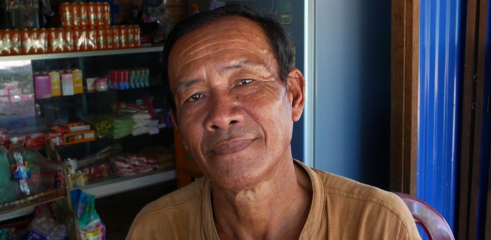 Restaurant Don Khong 4000 îles Laos