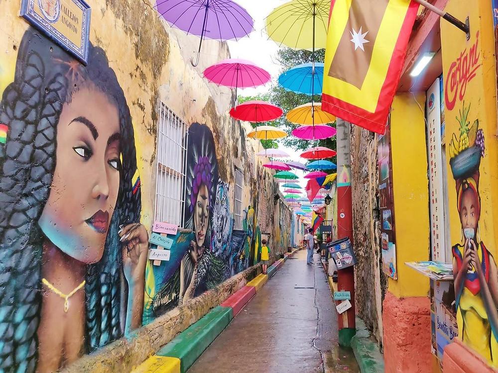 quartier de Getsemani Carthagene Colombie