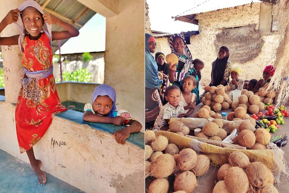 enfants village de Matemwe