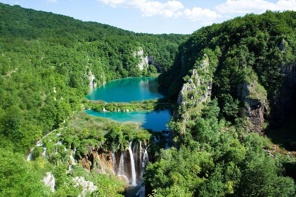 Le parc des lacs de Plitvice en Croatie