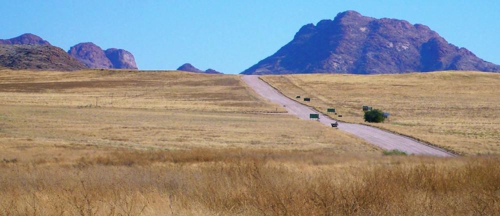 route pour solitaire en namibie