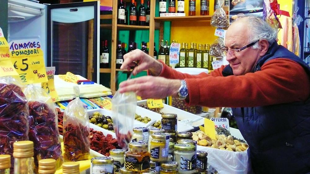 3 jours à Florence - épiceries