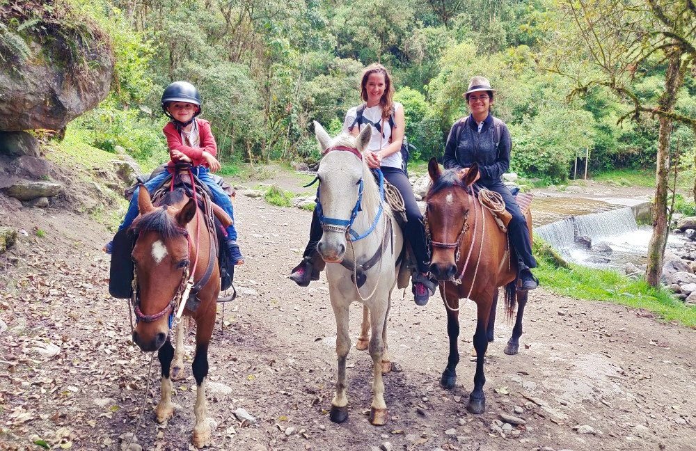 Guide cheval agence Magelia Colombie