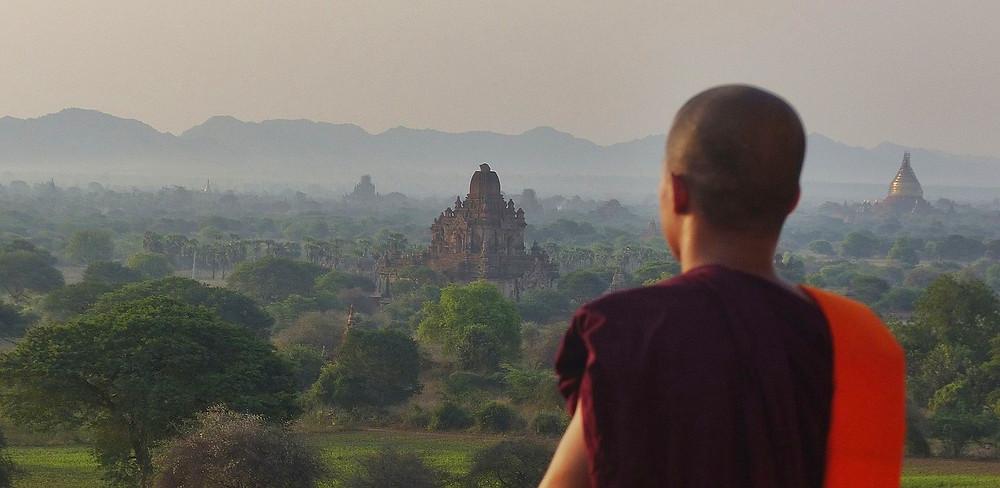 vue sur Bagan depuis Dhammayangyi