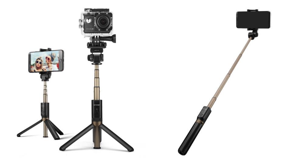 perche a selfies trepied photo 2  en 1