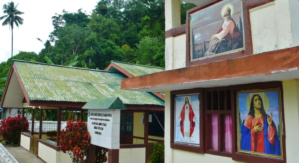 Eglise Gam Raja Ampat