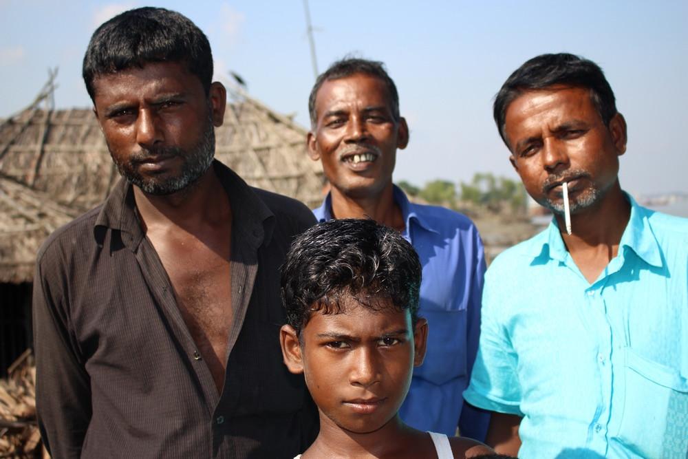 familles Sundarbans au Bangladesh