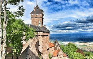 Château du Haut-Koenigsbourg de Orschwiller