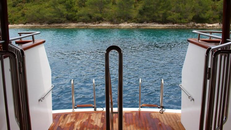 croisière en croatie baignade mer