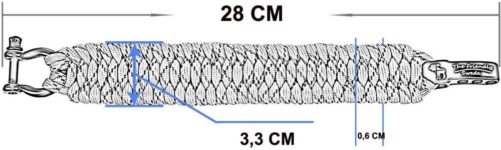 bracelet paracorde schéma