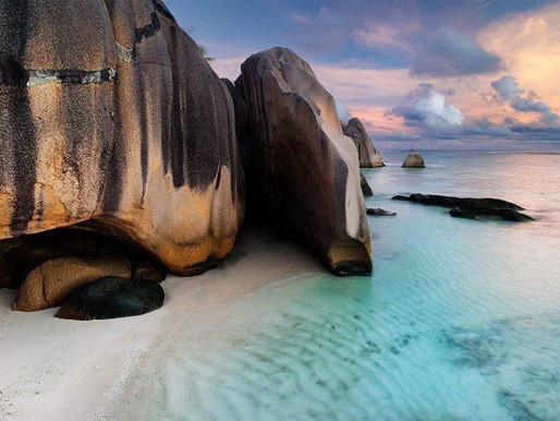 Anse Source d'Argent sur l'île de la Digue aux Seychelles