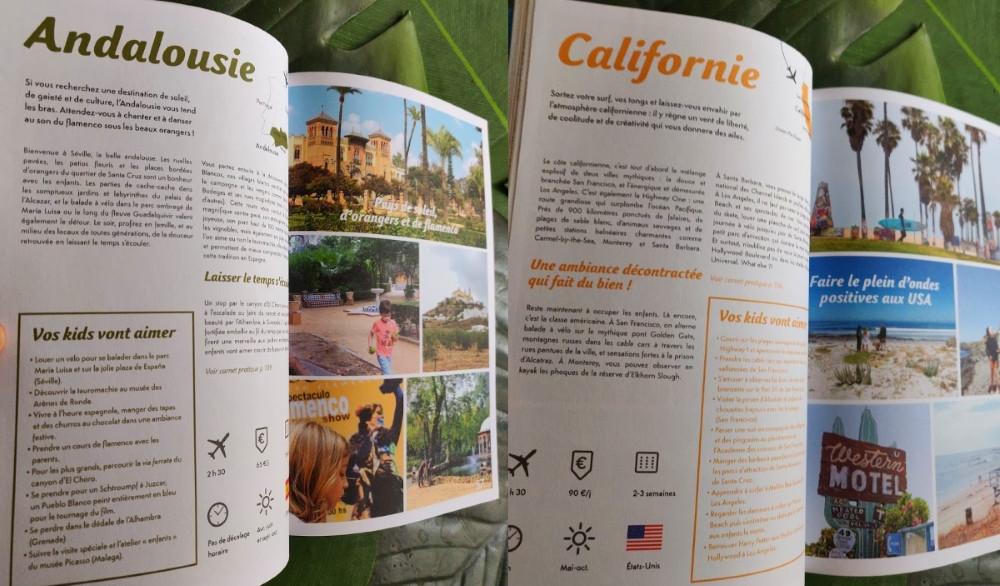 Andalousie Californie en Famille livre