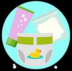 Hygiène bébé voyage liste