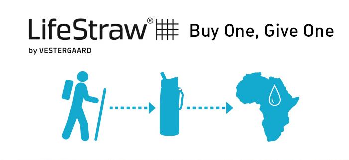 paille Lifestraw une achetée une offerte