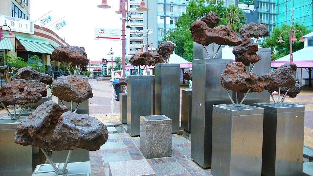 Windhoek meteorites Namibie