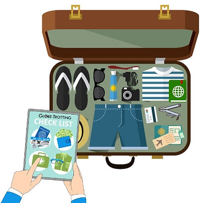 check list sac de voyage