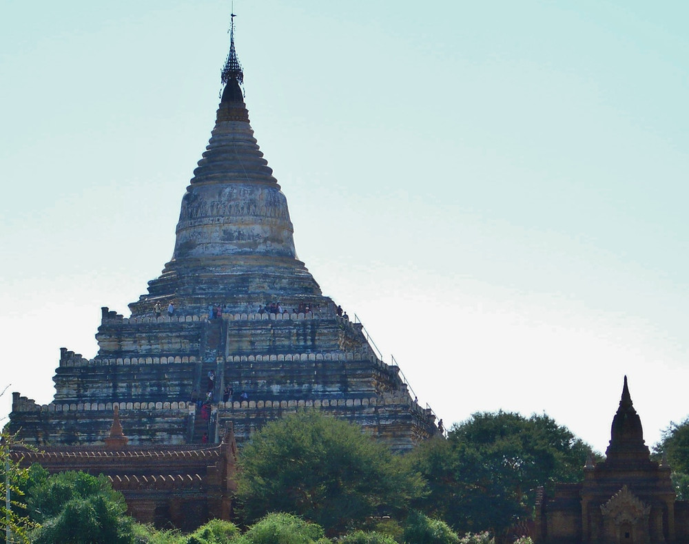 Bagan pagode Shwesandaw