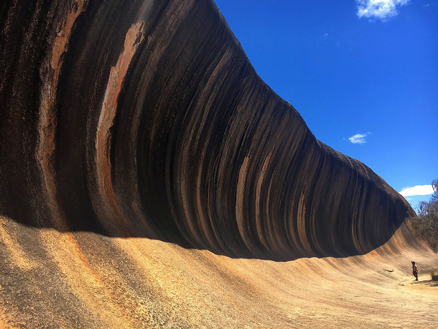 wave rock australie