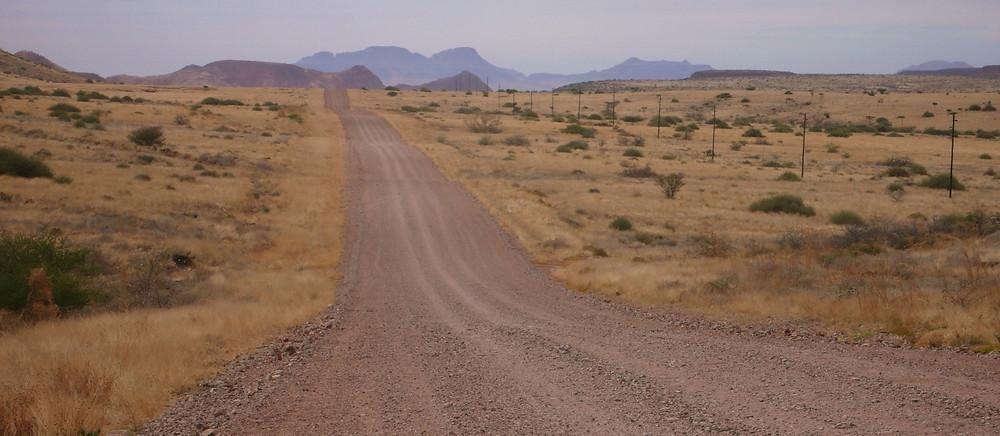 Paysage Damaraland Namibie