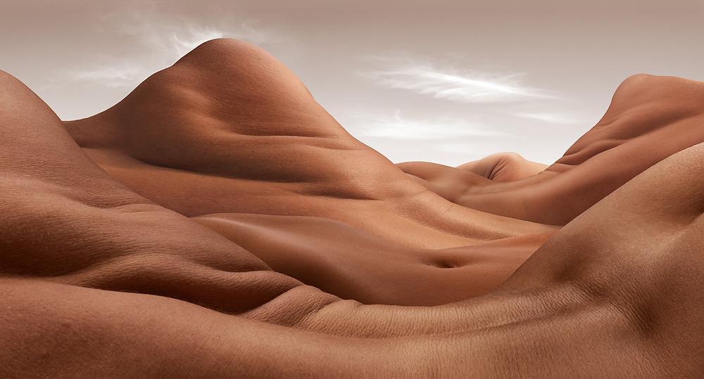 La colline de l'épaule Carl Warner