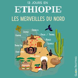 Ethiopie carte voyage