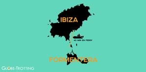 Formentera Ibiza carte ferry
