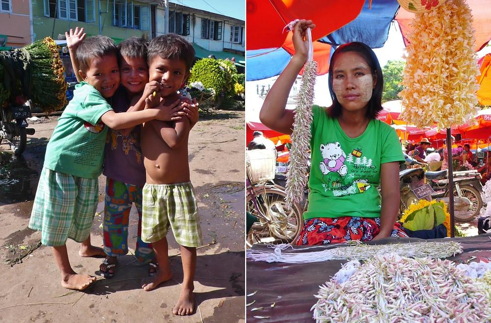 marché fleurs mandalay