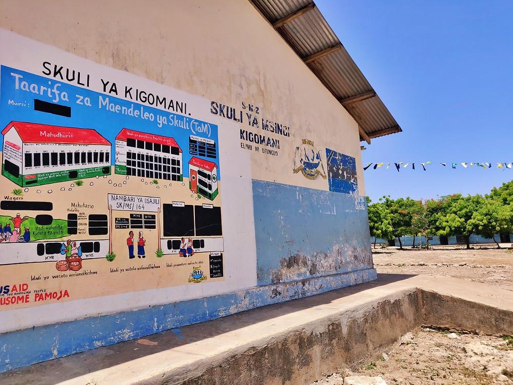 école village de Matemwe