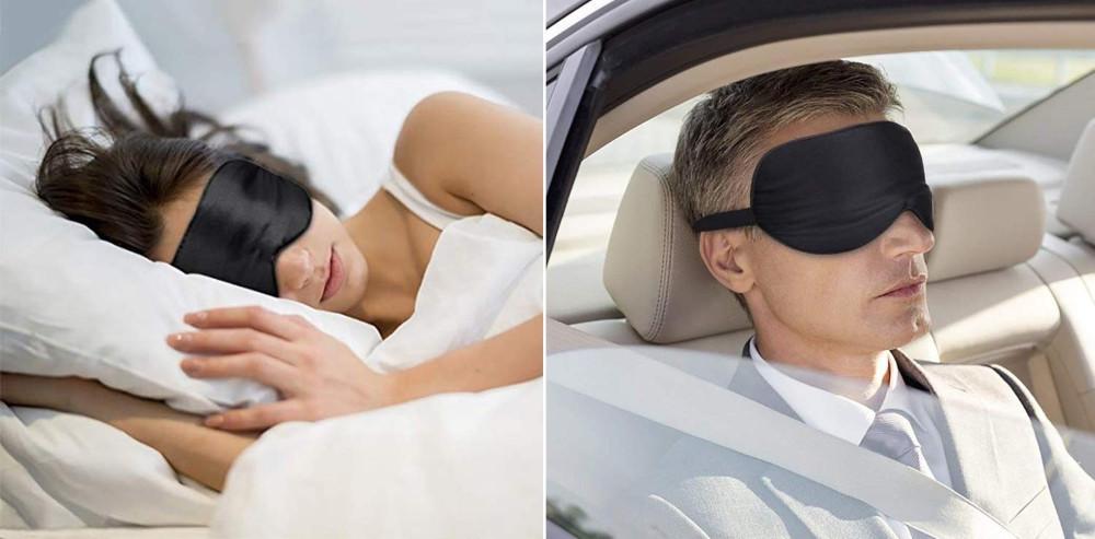 Masque de sommeil yeux et oreilles
