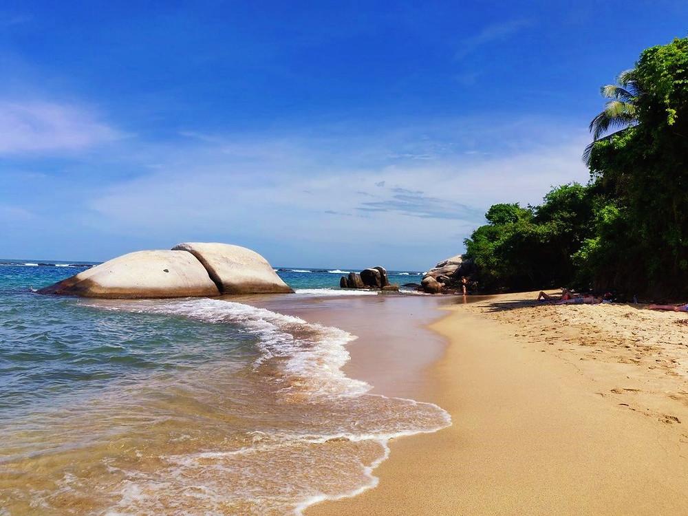 la piscina tayrona colombie
