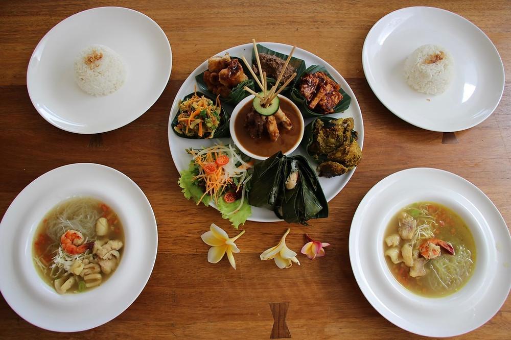 Uluwatu bali spécialités culinaires