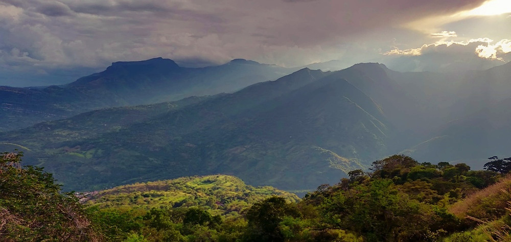 route de Barichara à Zapatoca