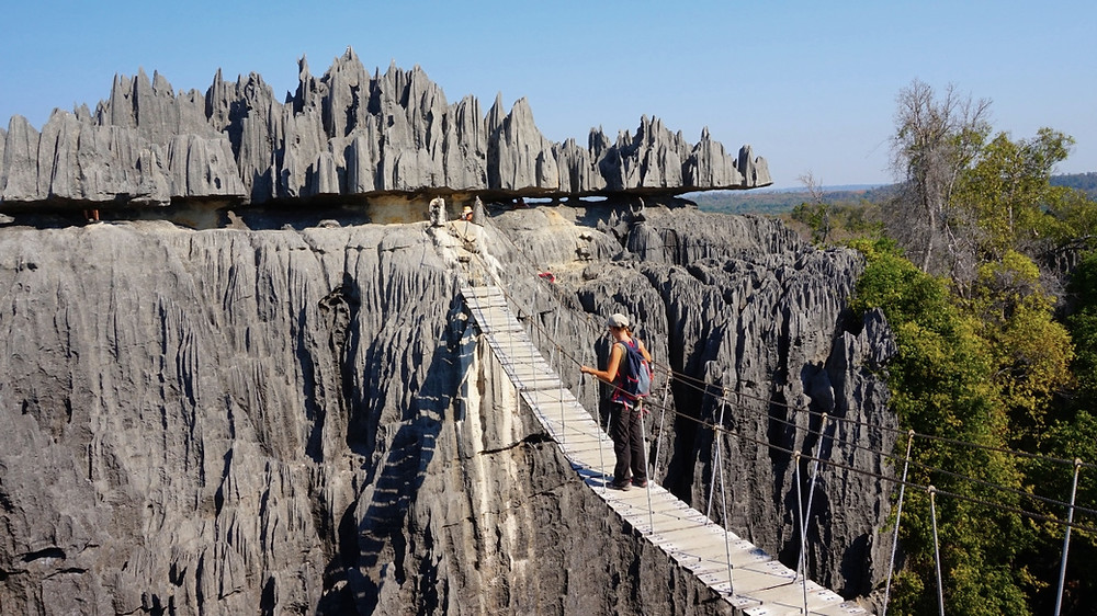 Tsingy pont suspendu