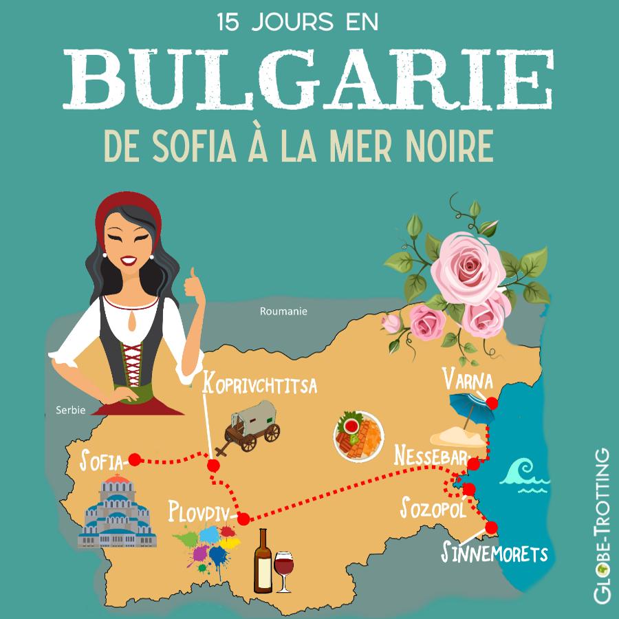 Itinéraire bulgarie