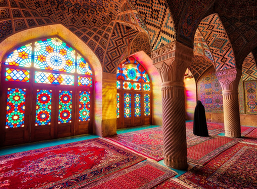 La Mosquée Rose en Iran : Nasir-ol-Molk