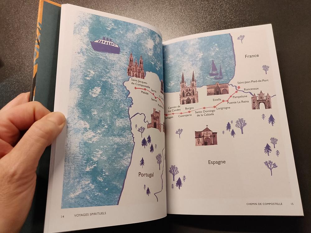 Voyages spirituels  livre