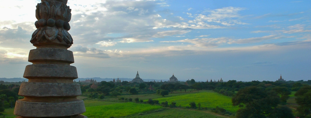 Bagan panorama depuis Dhammayangyi