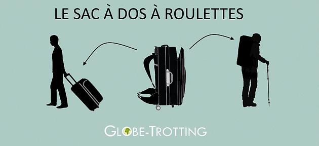 vente chaude en ligne 9eda5 1230f Sac à dos à roulettes | Globe-Trotting - Blog Voyage